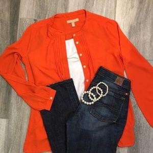 Banana Republic Orange Bliss Shirt